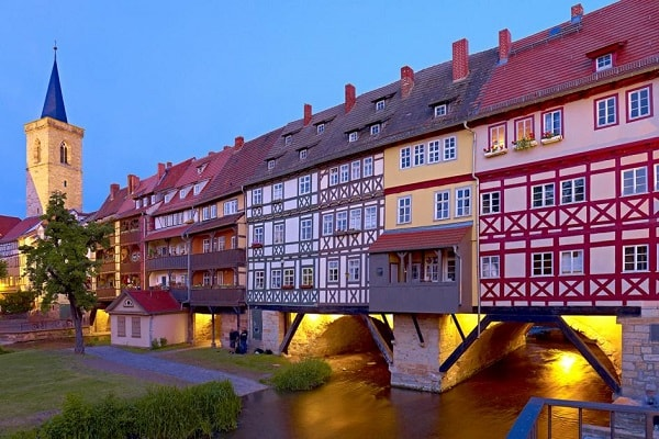 Kramerbrucke in Erfurt