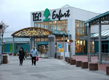 T.E.C. - Thuringer Einkaufscenter in Erfurt